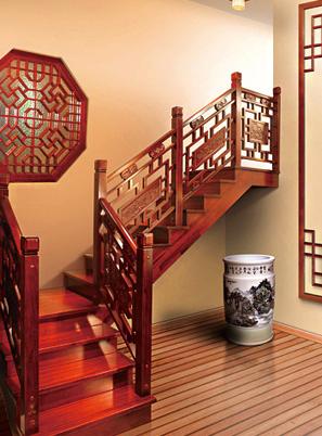 烟台实木楼梯制作
