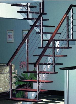 潍坊钢木楼梯制作