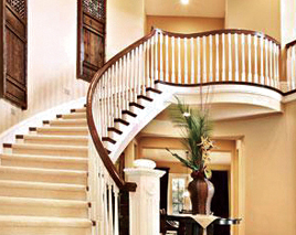 烟台欧式楼梯