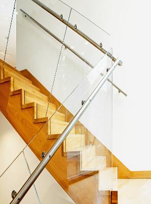 潍坊玻璃楼梯设计