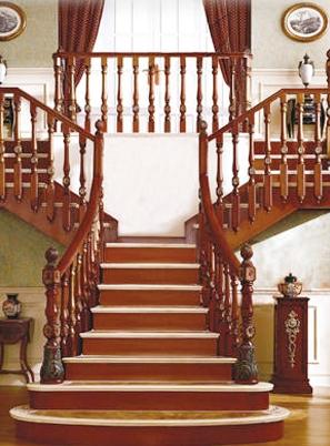 烟台别墅楼梯