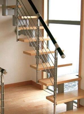 烟台成品钢木楼梯