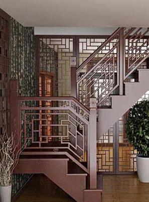 烟台中式成品楼梯