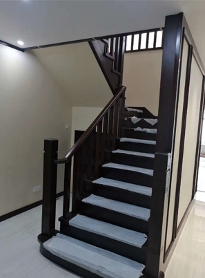 烟台实景图片楼梯定制