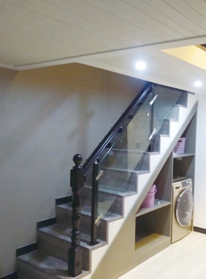 烟台钢木楼梯制作