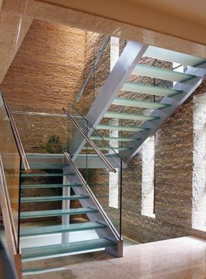烟台室内玻璃楼梯