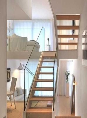 烟台复式玻璃楼梯