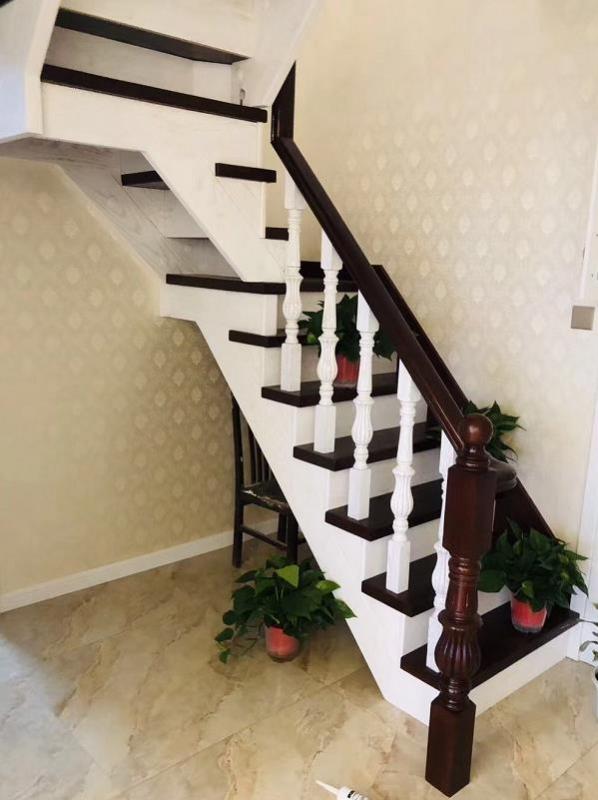 美国红橡木楼梯
